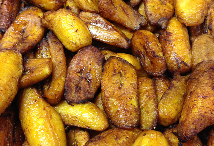 Sweet Fried Plantains